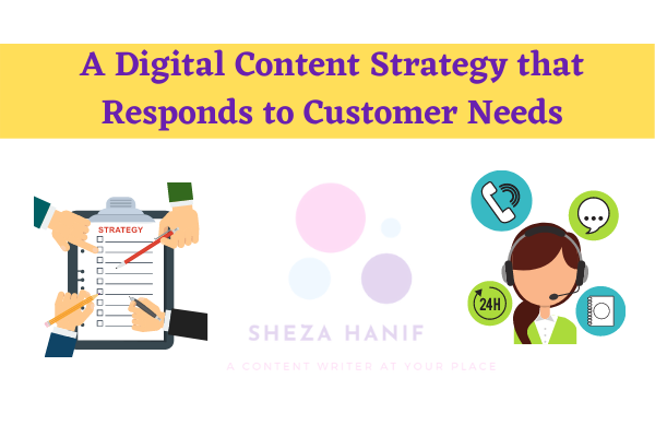 A Digital Content Strategy that Responds to Customer Needs
