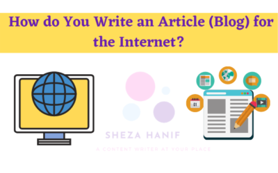 How do You Write an Article (Blog) for the Internet? 11 Powerful Online Copywrite Techniques