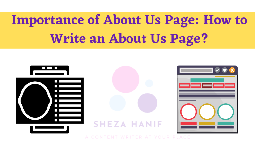 Importance of About Us Page: How to Write an About Us Page?